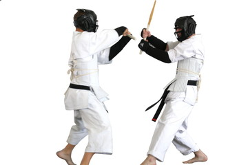 Karate fight ( kumite), sports series