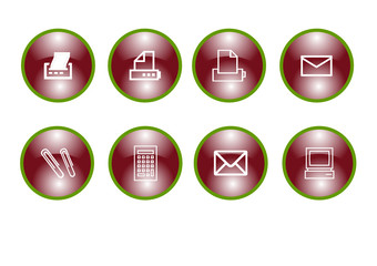 Büro - Icons - Webicons