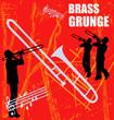 Brass Grunge Background