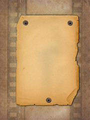 old, shabby paper