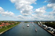 Leinwanddruck Bild - Nord-Ostsee-Kanal