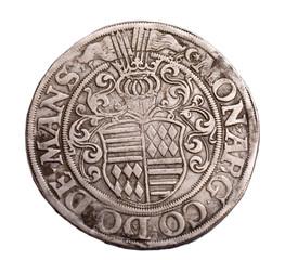 German Silver Thaler 1525
