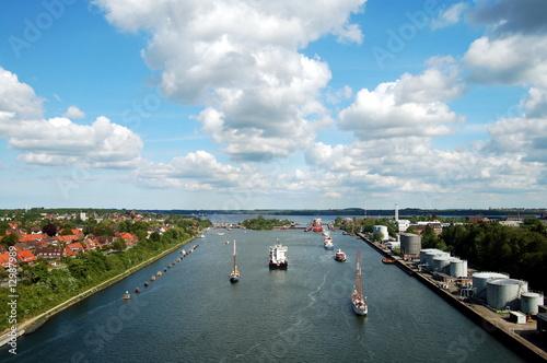 Foto op Canvas Kanaal Nord-Ostsee-Kanal