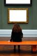 Ausruhen in der Galerie