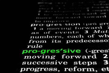Progressive Defined on Black