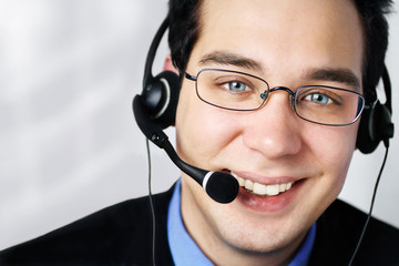 Service am Telefon