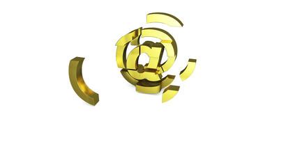 gold web explode