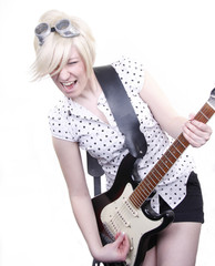 Lead-Gitarristin