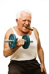 weight lifting senior