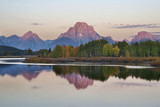 Oxbow Bend and Tetons at Sunrise