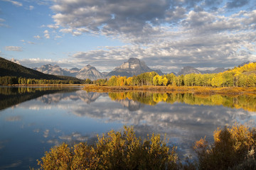 Early morning at Oxbow Bend