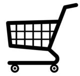 Shopping cart icon (Vector)