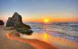 Fototapeta Landscape - Sunrise Rocks © Christopher Meder