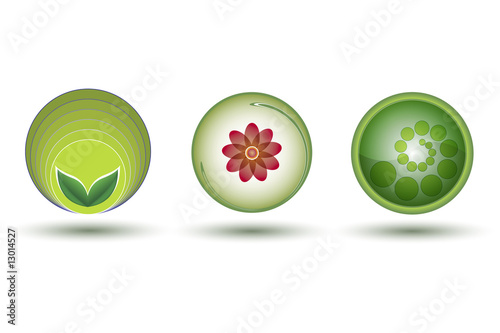Green-Friendly Icons