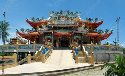 traditional asian temple