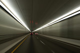 Vehicle Tunnel Blur poster