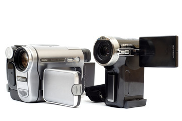 Two digital cameras