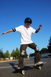 Fun on Skateboard