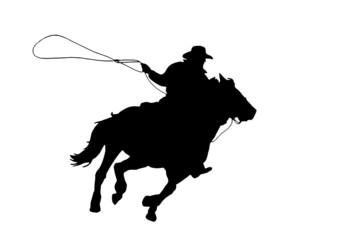 cowboy (vettoriale)
