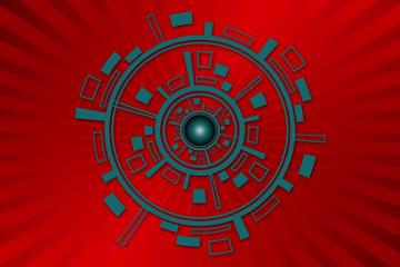 Geometric Circle Design