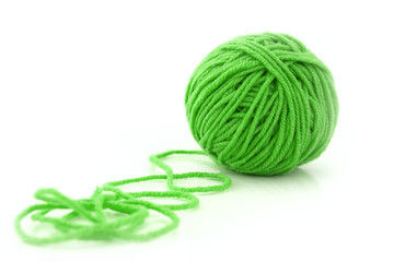 Ball of green threads