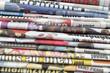 une pile de journaux à recycler