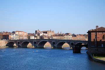 Les quais de Toulouse