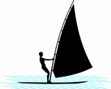 water sports - sailing / windsurfing