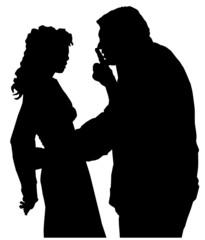 confitto di coppia (vettoriale)