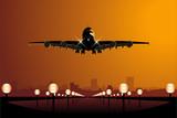Fototapeta lotnisko - Samolotem - Samolot