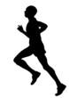 maratoneta (vettoriale)