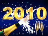 Fototapety champagner 2010