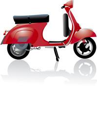 motocicleta escooter