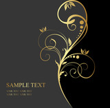 Fototapety golden background for text