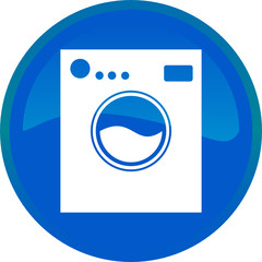 Washing machine web button