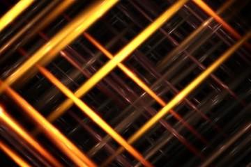 Yellow net NTSCDV - digital animation