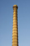 old industrial chimney