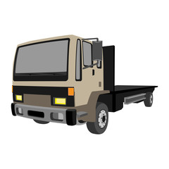 non-gradiented truck