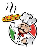 Fototapety Pizza Chef