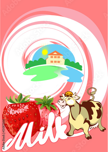 Milk_strawberry