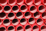 Plastic tubes poster