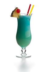 Swimming Pool - türkiser Cocktail mit Spiegelung