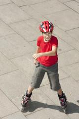 boy on the rollerblades