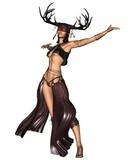 Celtic Woodland Goddess - 2 poster