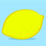 Lemon - doodle poster