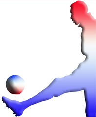 footballeur tricolore
