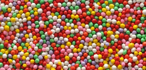 granella di zucchero multicolore per dolci