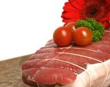 viande crue poster