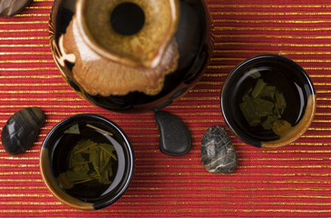 Asian Green Tea