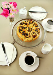 Chelsea Bun And Coffee